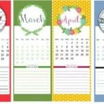 10 calendários 2015 para imprimir grátis