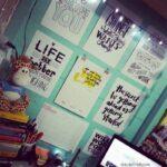 A minha parede de inspirações
