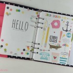 Unboxing/Review – Planner Carpe Diem Simple Stories