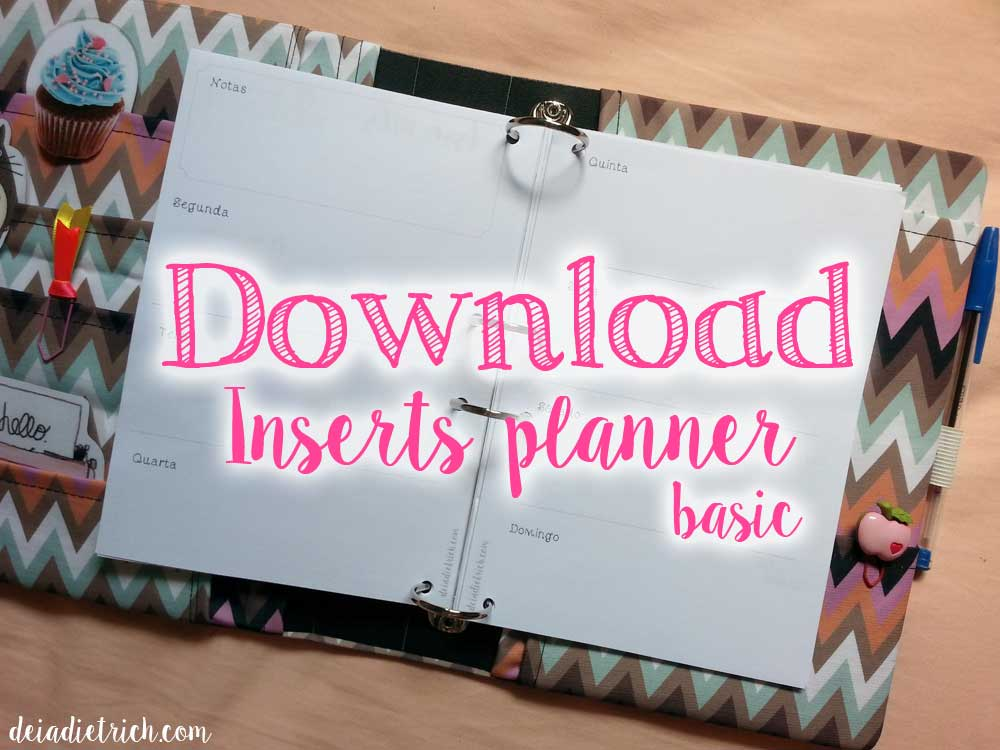 personal planner download