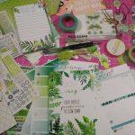 Cocoa Daisy planner kit – Maio