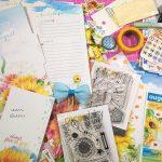 Cocoa Daisy planner kit – Agosto