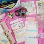 Setup de julho no planner personal usando kit Cocoa Daisy