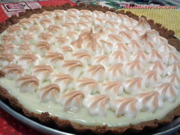 Receita: Torta de Limão