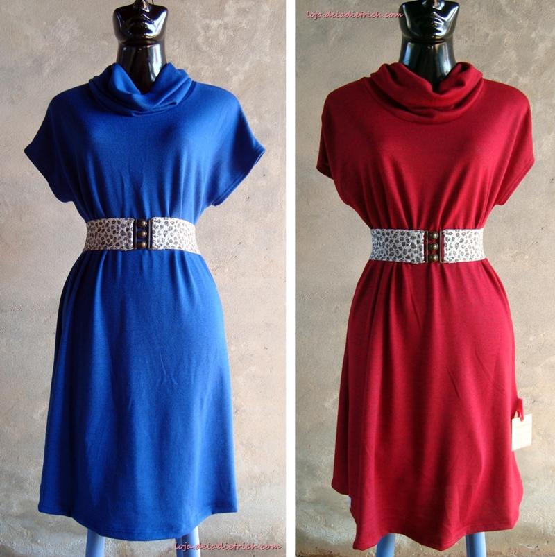 Vestidos novos da coleção outono/inverno na loja