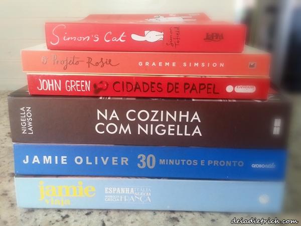 Minhas Compras de Livros on-line (Submarino e Saraiva)
