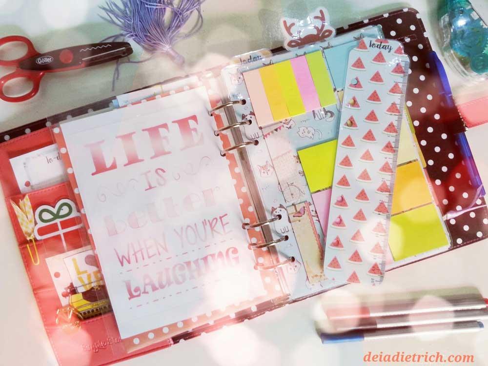DIY – Organizador de post-it para planner