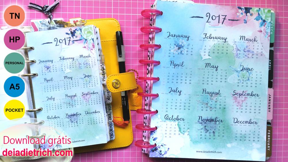 Calendario Deia Dietrich