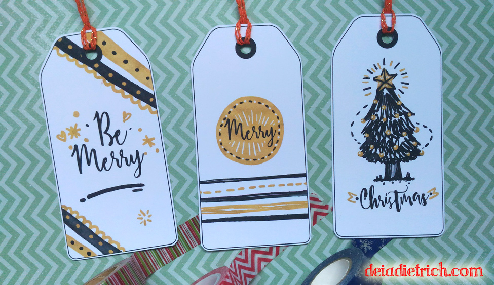 Download – Tags de Natal [corte na Silhouette]