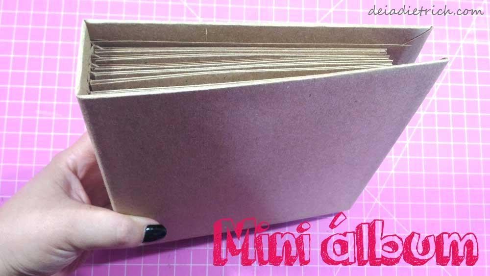 Mini álbum – Tutorial da montagem