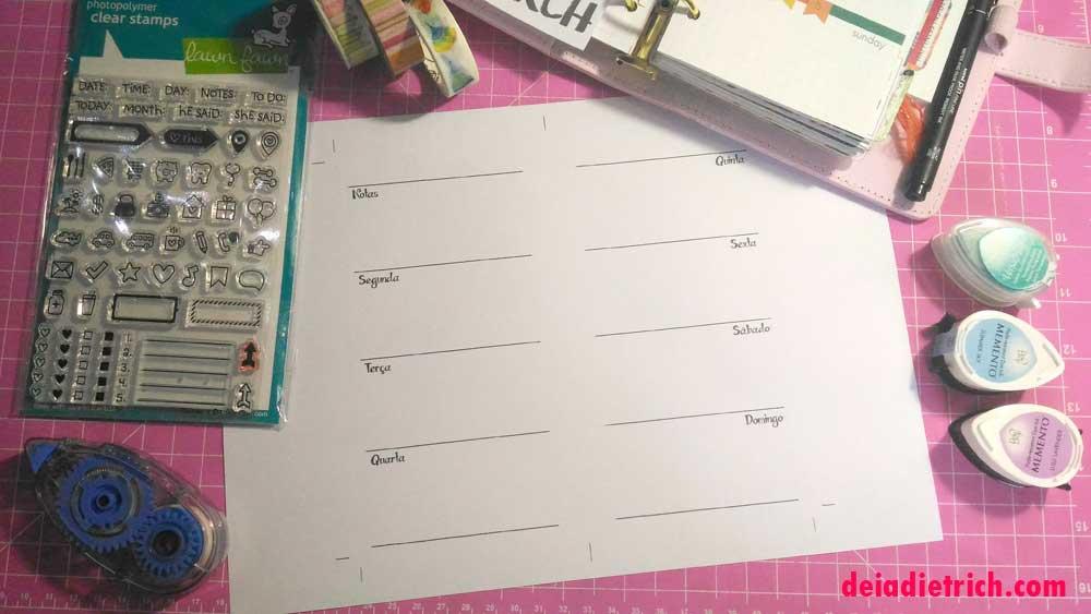 DIY – Como fazer inserts usando o Corel – Aula 1