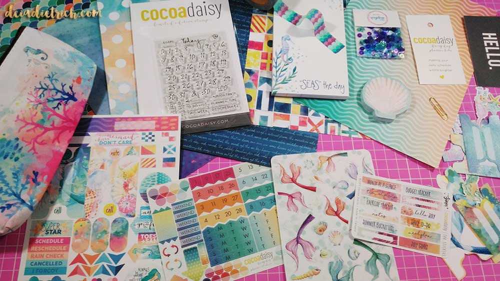 Cocoa Daisy planner kit – Julho