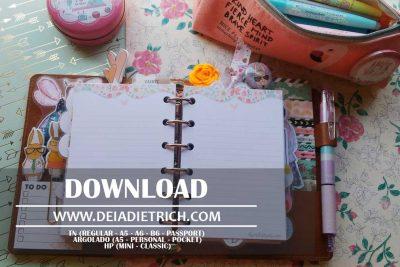 Download – Insert anotações [A5, Personal, Pocket, TN, HP]