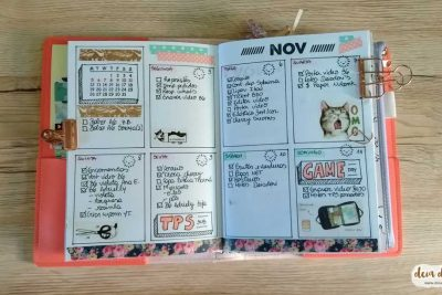 Bullet journal no #Deiadori B6