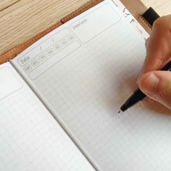 Caderno - Planner diário básico