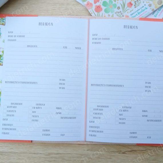 Caderno Artesã - Pedidos