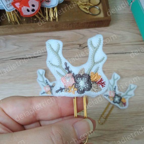 Clips decorados - Boho