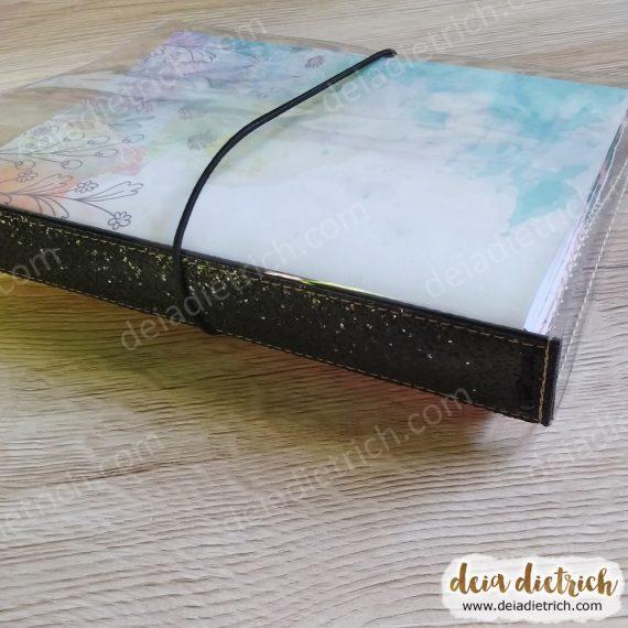 Deiadori B6 - TN Transparente - Glitter - Cores